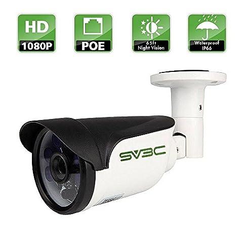 SV3C Full HD 1080P POE IP CCTV Camera Outdoor Security