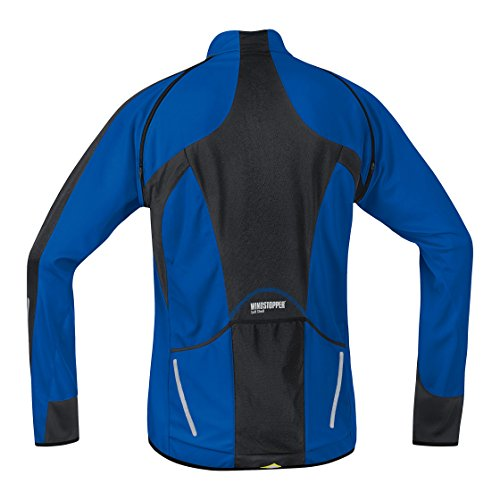 Gore Bike Wear Herren Phantom 2.0 Windstopper Soft Shell Jacke Brilliant Blue/Black