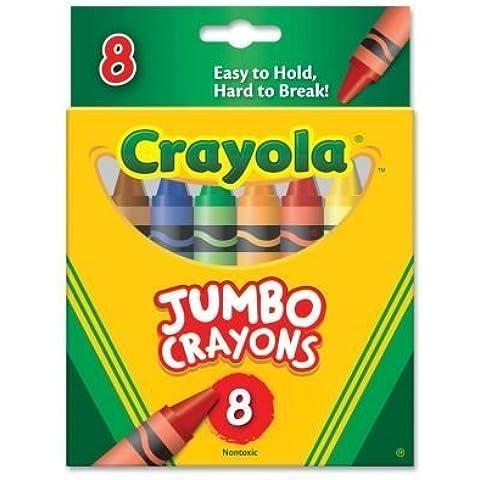 Crayola Jumbo Crayons (52-0389) by Binney & Smith