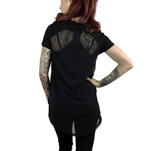 Yakuza Original Damen Rocker Limpid Shirt Schwarz