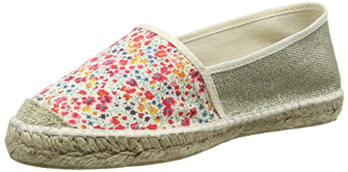 Pare GabiaVp Mix - Espadrillas Donna , Rosso (Rouge (Rouge/Or)), 37