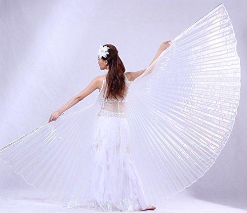 Isis Wings Schleier Bauchtanz Belly dance Kostüm Fasching Karneval Samba Tanz (Samba Tanz Kostüm)