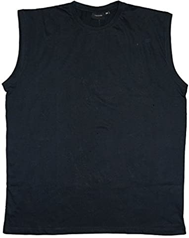 ESPIONAGE PREMIUM COMBED COTTON CREW NECK SLEEVE LESS TEE SHIRT/ MUSCLE TEE IN SIZE 2XL TO 8X, 6 COLORS