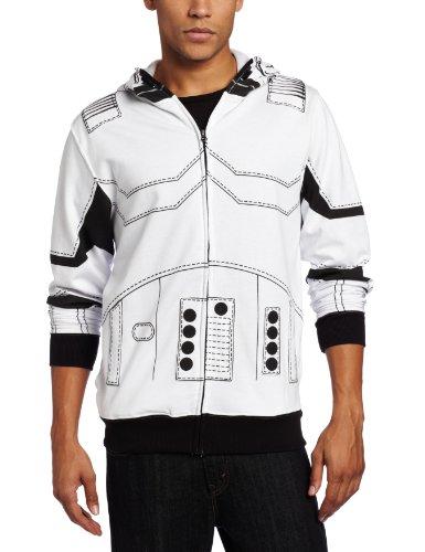 Star Wars I Am Stormtrooper Erwachsene Full Zip Kostüm ()