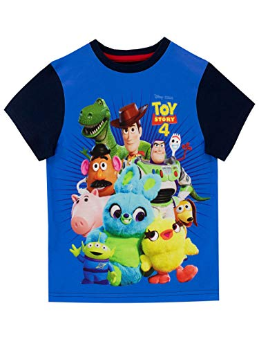 Disney Jungen Toy Story T-Shirt Blau 116 Toy Story T-shirts