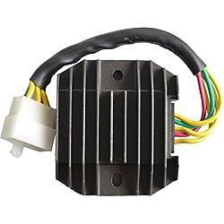 AHL Moto Voltaje rectificador Regulador para YAMAHA YZF R1YZF R11998–2001