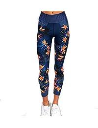 YUCH Pantalon De Yoga pour Femme, Pantalon De Jogging Aux Fesses Serrées, Taille  Haute d5b5f026e2e6