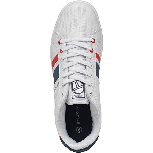 Sergio Tacchini , Baskets mode pour homme White Navy Red