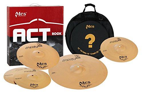 Mes ACT Rock Series Becken Set Studio (14