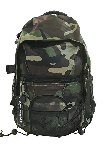 Sport Rucksack Trekking Camping Reise Rucksack Wanderrucksack Schulrucksack Backpack Army-Style Camouflage Grün