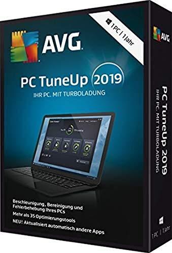 AVG PC TuneUp 2019 Vollversion, 1 Lizenz Windows Systemtuning-Software