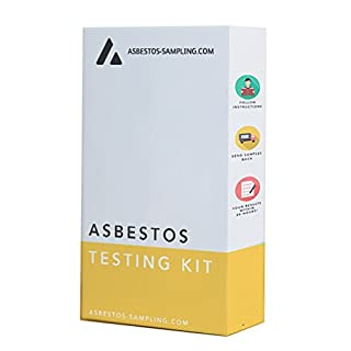 Asbestos Test Kit x 2 Samples, Including PPE, Return Postage and sample test fee