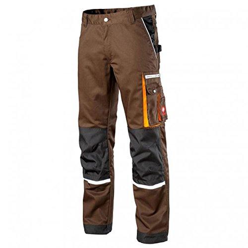 Preisvergleich Produktbild KRÄHE Arbeitshose Modern Plus Pro Herren – Hose mit Mehrwert in braun Größe 56