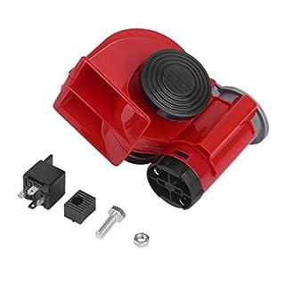Pgige Air Blast Horn, Universal Electric Super Lauter Dual Tone Air Blast Horn Lautsprecher 12 V 150Db Für Motorrad Auto Lkw Rv Zug Boot
