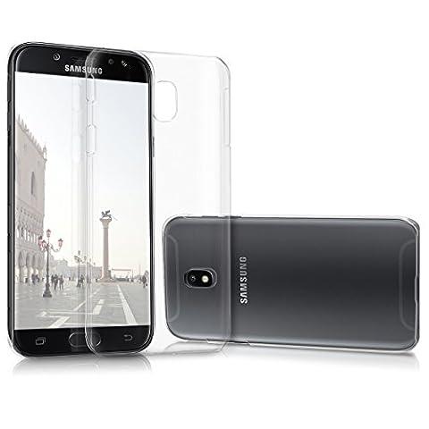 kwmobile Hülle für Samsung Galaxy J5 (2017) DUOS - Crystal Case Handy Schutzhülle Kunststoff - Backcover Cover klar (Duo Handys)