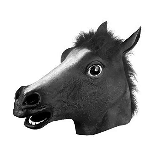 en Kostüm Aprilscherz Maske Party Latex Pferd Kopf Maske ()