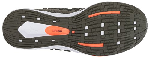 PUMA Men s Speed Racer Sneaker  Forest Night-Shocking Orange  12 M US