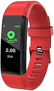 Anself Orologio Sportivo con Cinturino Intelligente Touchscreen da 0,96 Pollici con Supporto Impermeabile per