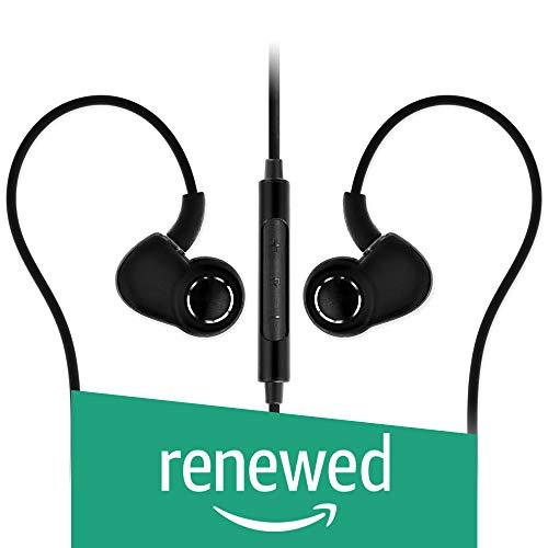 Renewed  SoundMagic PL30+C in Ear Headphones with Mic  Black