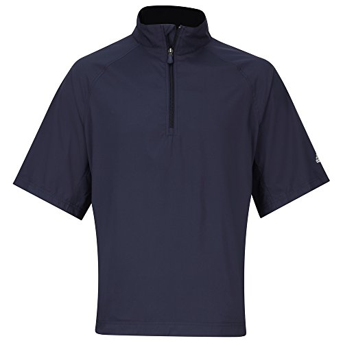 adidas Short sleeve windshirt Navy / Sterling S (Adidas Windshirt)