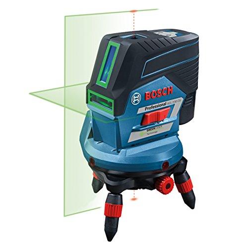 Preisvergleich Produktbild Bosch Professional GCL 2-50 CG Kombilaser, Drehhalterung, Deckenklemme, 1x 12V, 2Ah-Akku, L-Boxx, 1 Stück, 0601066H00