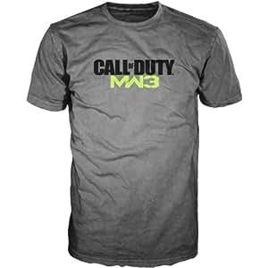 T-Shirt 'Call of Duty Modern Warfare 3' - gris - Taille XL