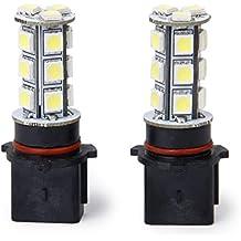 2Pcs P13W LED Bombillas Lampara Coche Conducir Antiniebla Luz Fog Light Blanca