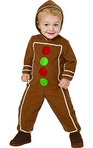 Shrek Kostüm Girl - Lebkuchenmann Weihnachten Karneval Fasching Kostüm Kinder Large