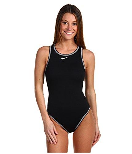 Nike 93210 Women's Solids High Neck Tank - Badeanzug Damen Nike