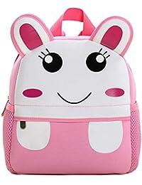 Preisvergleich für Tiger Kinder-Rucksack Wasserdicht mit Brustgurt für 1-3 jährige Jungen und Mädchen im Kindergarten oder Kita