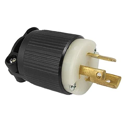 DealMux AC 125V 15A Nema L5-15P Twist Lock Gerätestecker J-701 (Nema Twist)
