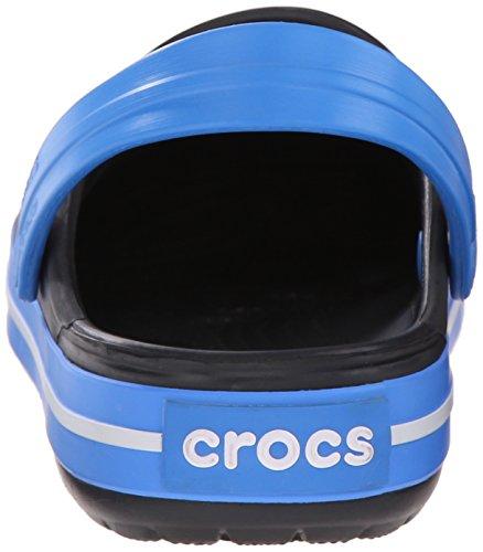 Crocs Crocband - Sabots - Mixte Adulte Noir (Charcoal/Ocean)