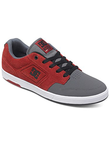 DC Shoes Herren Sneaker grey/dark red
