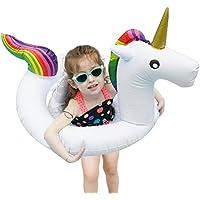 Bramble Flotador de Unicornio Blanco Pequeño - Artículo de Piscina para Niños - Apto para 1