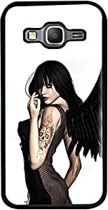 PrintVisa Hot Angel Girl Case Cover for Samsung Galaxy Core Prime