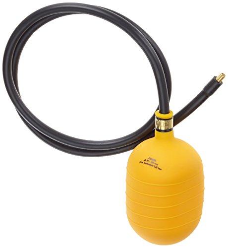 Aqua Forte - Bouchon Gonflable 92-145 mm (1,5m Schlauch) Jaune/Noir