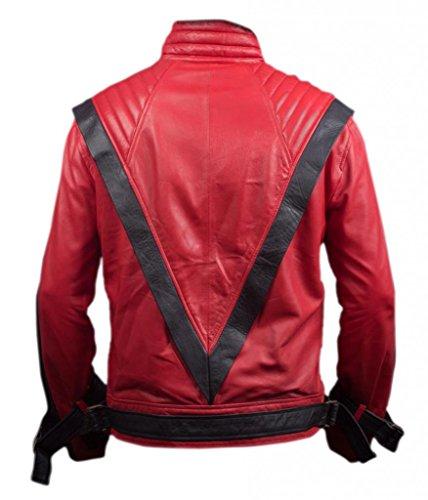 F&H Men's Michael Jackson Thriller Jacket red