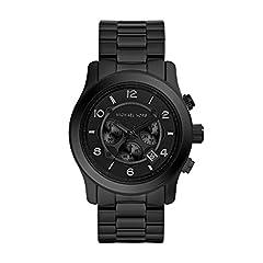 Idea Regalo - Michael Kors Orologio Cronografo Quarzo Uomo con Cinturino in Acciaio Inox MK8157