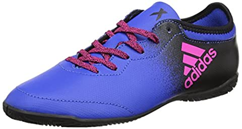 adidas Unisex-Kinder X Tango 16.3 in Fußballschuhe, Blau (Blue/Shock Pink/Core Black), 38 2/3 EU
