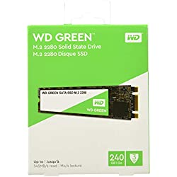 Western Digital WD Green 240 GB M.2 2280 SATA Internal Solid State Drive (WDS240G2G0B)