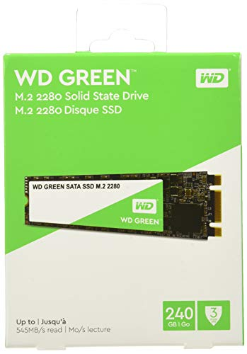 WD Green 240GB Internal SSD M.2 SATA