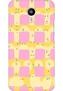 AMEZ designer printed 3d premium high quality back case cover for Meizu M2 Note (cute)
