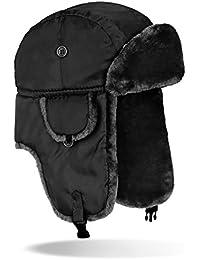 Sombrero de piloto de avión Gorro de invierno, negro, xxx-large
