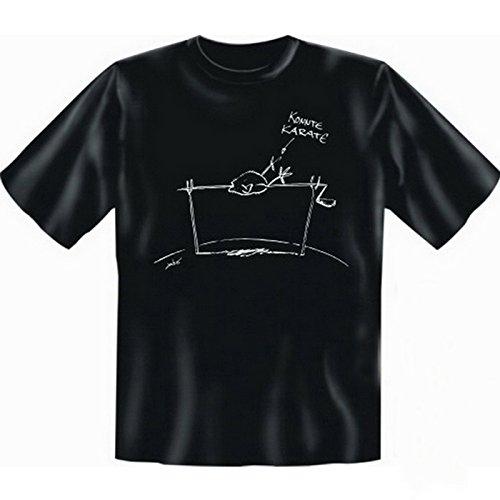 super Auftritt mit collem T-shirt-Set: Farbe: schwarz + Konnte Karate + Schwarz