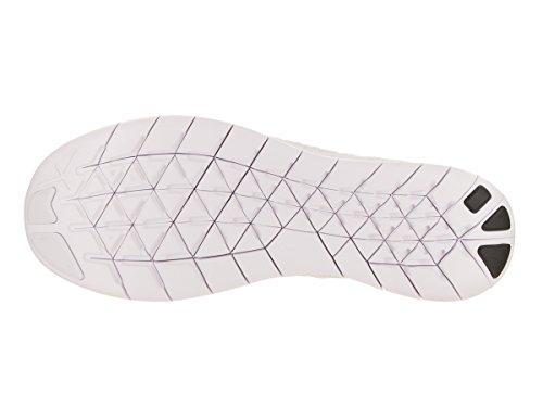 new product 65cb6 dedab ... Nike Free Run Flyknit 2017, Scarpe Running Uomo Blanc  Blanc-platine  ...