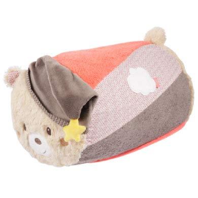 *FEHN 060546 Krabbelrolle Bär / Krabbel-Hilfe im lustigen Bären Design für Babys und Kleinkinder ab 6+ Monaten – Maße: ø 22 x 34 cm*