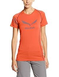 low priced b8f28 a9145 SALEWA SolidLogo Dry, maglietta donna, Donna, SOLIDLOGO DRY Frauen T-Shirt,