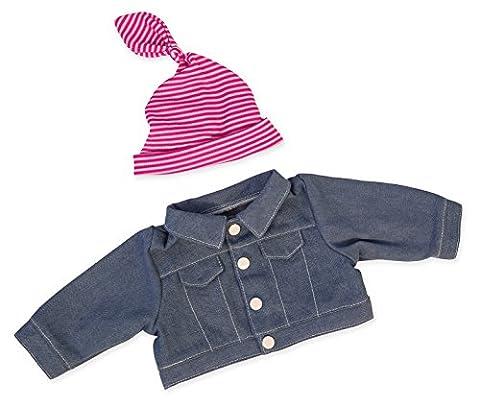 Bayer Design - 84654 - Vêtement Pour Poupée - Habit Poupon - Jupe Jean - 40-46 Cm