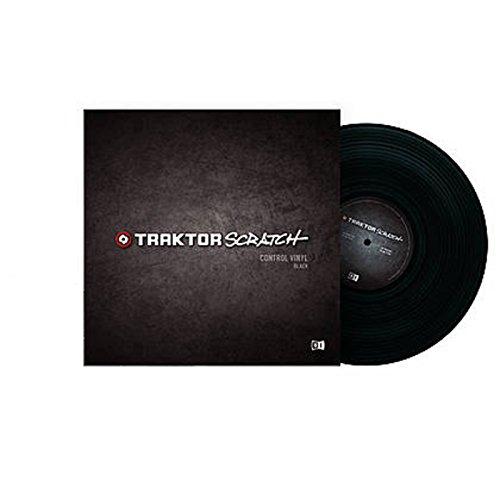 Traktor Control Vinyl MKII black (Vinile di controllo)