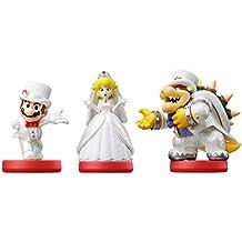 Nintendo - Amiibo Mario, Peach, Bowser (Pack De 3)